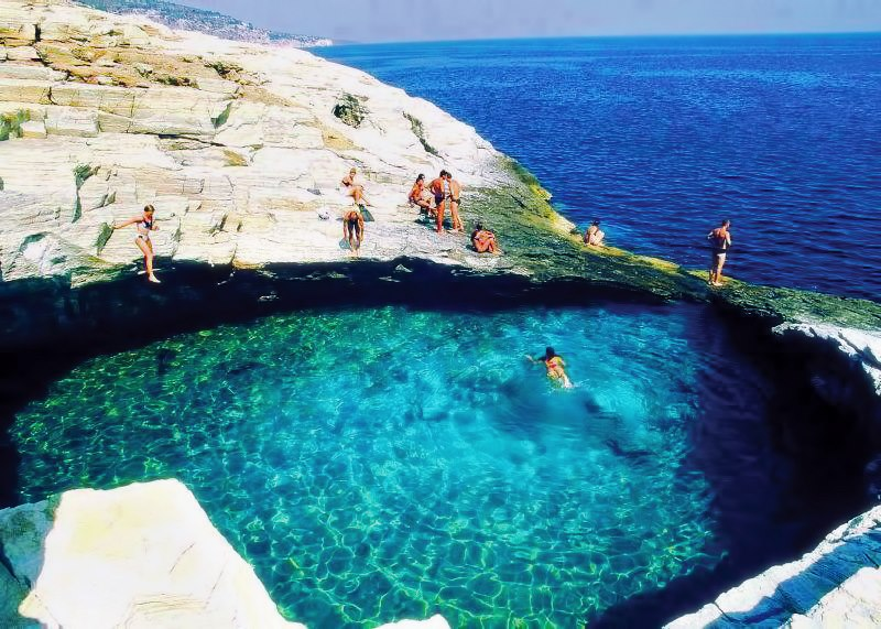 Θάσσος - Thassos island,natural pool